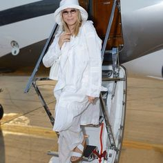 Barbra Streisand arriving in Israel 6/16/2013