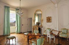 Court Royale -Cabinet of the apartment of Madam de Pompadour, Louis XV's mistress.   Versailles Palace