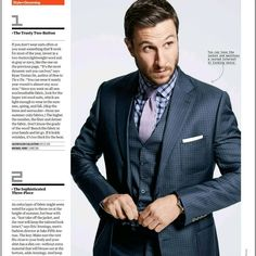 Current issue of Men's Health.