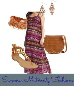 Summer Maternity Fashion inspired by Missoni