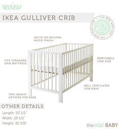 Baby room ideas ikea cribs 66 ideas for 2019 Ikea Crib, Ikea Baby Room, Baby Bedroom, Nursery Bedding, Baby Kicking, Natural Wood Finish, Crib Mattress, Baby Needs, Yurts