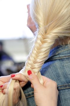 How to create the perfect fishtail braid