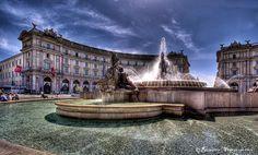 Roma - Piazza della Repubblica by Giuseppe  Peppoloni on 500px