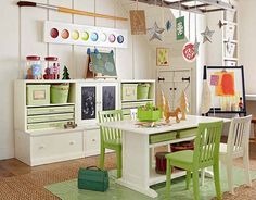 Pottery Barn Kids Toddler Art Playroom