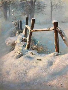 New winter landscape painting ideas ideas Watercolor Landscape, Landscape Art, Landscape Paintings, Watercolor Art, Landscape Photography, Nature Photography, Urban Photography, Winter Szenen, Winter Magic