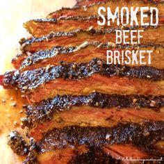 Texas - Smoked Brisket - How to Smoke A Brisket - History of Barbeque - History of Texas Beef Brisket Beef Brisket Recipes, Smoked Beef Brisket, Smoked Meat Recipes, Grilling Recipes, Seafood Recipes, Brisket Meat, Smoked Ribs, Game Recipes, Gastronomia