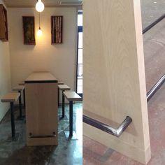 Back Bar, Beer Taps, Steel Wall, Door Handles, Sconces, Wall Lights, Lighting, Building, Home Decor