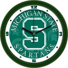 Michigan State Dimension Wall Clock ** More info could be found at the image url.