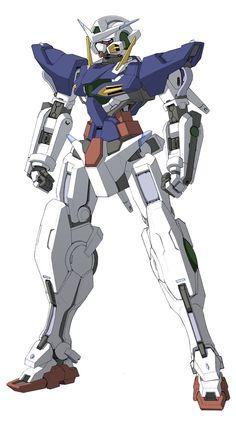 Gundam Exia ver. Rekkou by Rekkou.deviantart.com on @deviantART