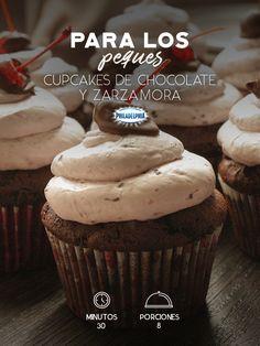 Oreo Cupcakes, Cheesecake Cookies, Fondant Cupcakes, Chocolate Cupcakes, Mini Cupcakes, Cupcake Cakes, Cupcake Recipes, Dessert Recipes, Pan Dulce