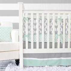 Project Nursery - Arrow Crib Bedding from Caden Lane