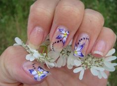 Beautiful flower designs! I will practice to do something as beautiful as this.
