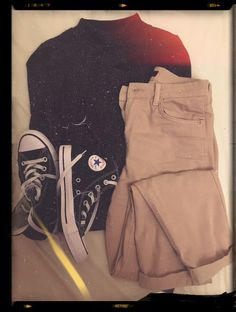 By me :) High Top Chucks, Jeans, Pull N Bear, Converse Men, Hold Ups, Chuck Taylors High Top, All Star, The Dreamers, High Tops