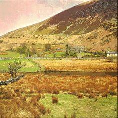 #landscape #Wales #retro #photography Fine Art Print