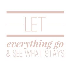 Words of wisdom: sometimes we have to let everything go & and up with zero for us to realize what stays & what/who are important.  New blog post up on the blog! Link in bio or go to www.lifestylesjourney.com
