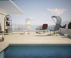 Milan 2013: Spanish designer Jaime Hayón presents aluminium and terracotta outdoor furniture designed for BD Barcelona Design, at Salone Internazionale del Mobile in Milan    #caluco #design #inspiration #customfurniture #Milano2013 #saloneinternazionaledelmobile #bdbarcelona #jaimehayon