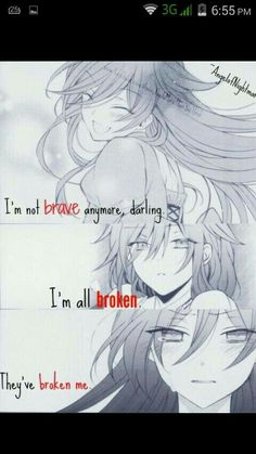 They've all broken me.