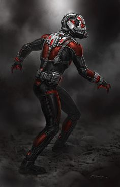 Ant-Man concept art by Andy Park *
