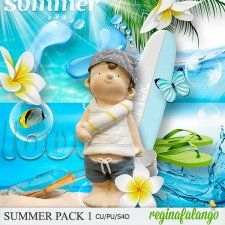 SUMMER PACK 1 #CUdigitals cudigitals.com cu commercial digital scrap #digiscrap scrapbook graphics