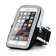 Just saw this on Amazon: iPhone 6 Sports Armband - Badalink Running ... iPhone 6 Sports Armband - Badalink Running Cell Phone Holder Case Arm Band Strap With Zipper Pouch/ Mobile Exercise Workout for iPhone 6 6S iPod Touch by Badalink for $8.99 http://amzn.to/2bIGlDw via @amazon