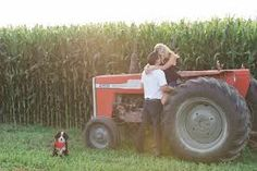 Image result for kissing on the tractor