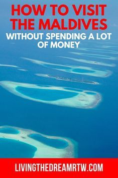 Looking to visit the Maldives without spending a lot of money? This guide has you covered with tips on how to go to this paradise destination without breaking the bank! Travel Guides, Travel Tips, Budget Travel, Paradise Travel, Lots Of Money, Romantic Vacations, Beaches In The World, Italy Vacation, Ultimate Travel