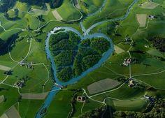Corações da natureza