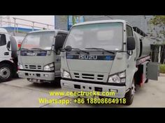 ISUZU Small Oil bowser truck (also called ISUZU Fuel tanker truck, ISUZU mini fuel filling truck, diesel bowser truck, ISUZU oil transportation truck. Fuel Truck, Crude Oil, Diesel, Trucks, Vehicles, Diesel Fuel, Truck, Rolling Stock, Vehicle