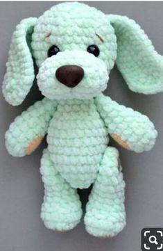 15 easy DIY knitting ideas - Page 4 of 16 Crochet dog crochet DIY knitting idea details. Crochet Diy, Crochet Simple, Crochet Amigurumi Free Patterns, Crochet Crafts, Crochet Dolls, Crochet Projects, Knitting Patterns, Knitting Ideas, Crochet Ideas