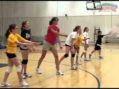 Listen to excellent advice from former UW-Milwaukee Head Volleyball Coach, Kathy Litzau. Here she uses skill progressions for teaching and develop. Volleyball Serving Drills, Volleyball Drills For Beginners, Volleyball Serve, Volleyball Practice, Volleyball Workouts, Volleyball Mom, Coaching Volleyball, Basketball Drills, Volleyball Players