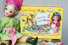 Vintage Junior Masterpiece Set for kids
