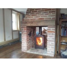 Vesta V8 Double Sided Woodburning Stove