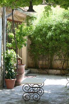 Courtyard...