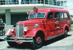 1938 Seagrave Engine