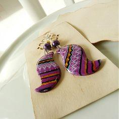Birds? by ala - SAShE.sk - Handmade Earrings