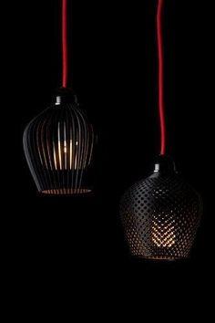➰3D. (I) A Dozen Elegant, 3-D-Printed Lamp Shades | Co.Design: business + innovation + design. #3d #printing #3dprintingbusiness