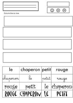 le petit chaperon rouge Grande Section, Album, Ms Gs, Php, Math, Traditional Tales, Kindergarten Stem, Kindergartens, Teaching