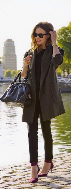 Luv to Look | Luxury Fashion & Style: Edgy street fashion style