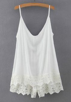 white top...