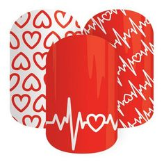 Very exciting news coming from Jamberry today. February is Heart Health Awareness month and our new Heart Health Awareness nails wraps are available today! $2 from every purchase will be donated to the American Heart Association. Don't miss out! www.jennifergroff.jamberrynails.net