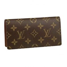 LV Monogram Canvas Simple Checkbook M62279 Louis Vuitton Wallet, Louis Vuitton Monogram, Monogram Canvas, Replica Handbags, Purses And Bags, Pattern, Leather, Accessories, Simple