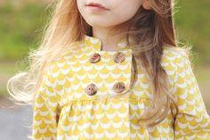 oliver + s sunday brunch jacket for handmade kids clothing swap.