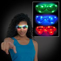 Wrap Around LED Sunglasses - Flashingo