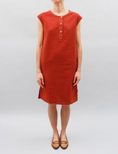 Margaret Howell MHL Gym Dress- Brick