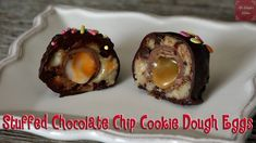 If you loved the danger of sneaking cookie dough and the candy eggs the Easter bunny would leave you, then this blissful treat is for you! Edible cookie dough eggs stuffed with caramel or creme eggs will leave you with the basket everyone wants to raid. Cookie Dough To Eat, Edible Cookie Dough, Chocolate Chip Cookie Dough, Quick Recipes, Crockpot Recipes, Kinds Of Cookies, Making Cookies, Batch Cooking, One Pot Meals