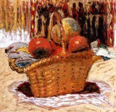 Basket of Fruit Pierre Bonnard