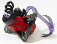 Ladybug Mobile  This resourceful activity will teach students about antonyms and synonyms and make the classroom a brighter place.