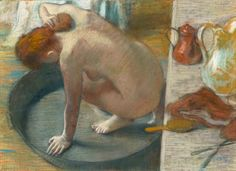 Edgar Degas, 'The Tub', pastel on paper