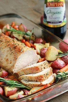 Balsamic Pork LoinReally nice recipes. Every hour.Show me what  Mein Blog: Alles rund um die Themen Genuss & Geschmack  Kochen Backen Braten Vorspeisen Hauptgerichte und Desserts # Hashtag