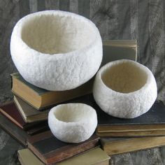 Felted Bowls Made Easy